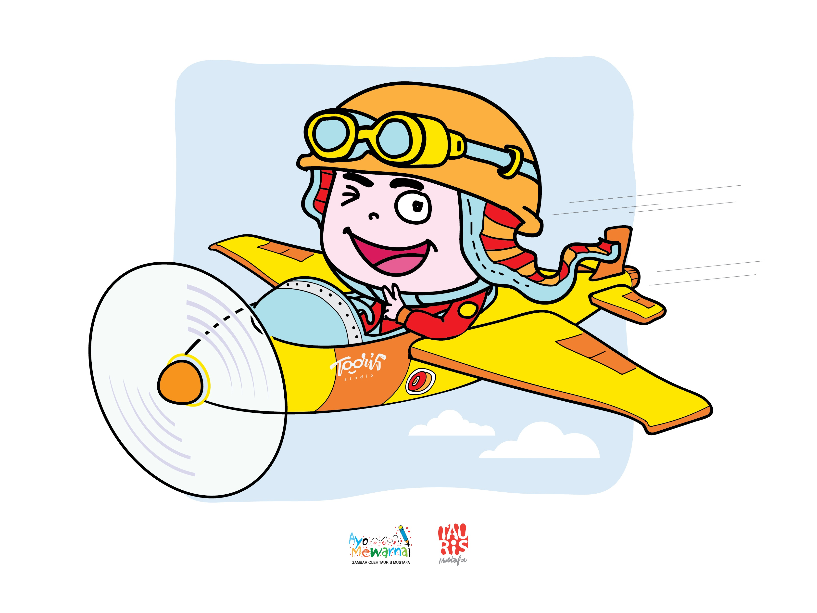 Illustration Kid By Tauris Mustafa On Dribbble