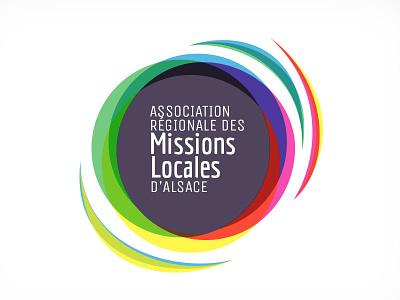 Logo pour les missions locales d'alsace logo