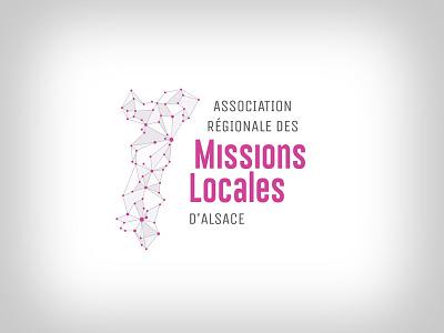 proposition de logo refusée pour les missions locales d'alsace logo