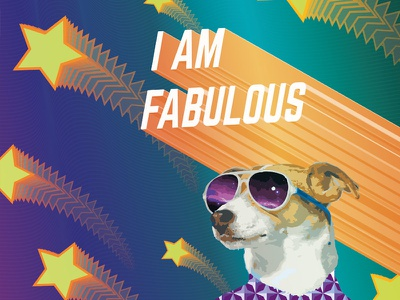 I am fabulous vector illustrator