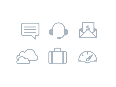Nubity - Navbar iconwork icon vector illustration nubity dashboard support billing clouds company notifications