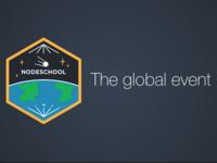 Nodeschool International Day Sticker