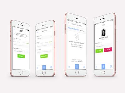 Open Collective management money expense ui mobile app fintech