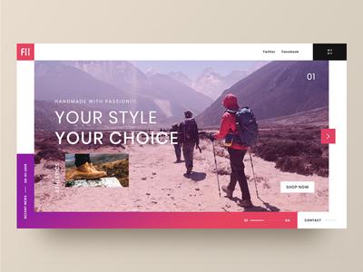 Landing Page Design Fii Athletics