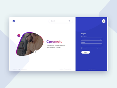 Login Page Interaction