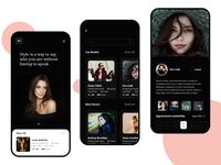 Model Management Mobile app