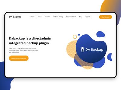 Landing page - DB