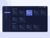 Dashboard for Server Management System