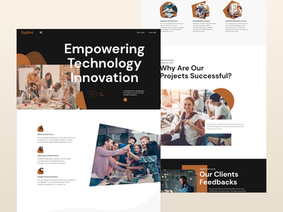 Server Management Company Landing Page card dribble popular all cpanel uiuxdesign dribbble design ui clen server management web design typography 2020 trend