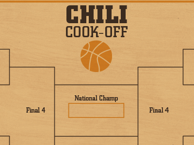 Chili Cook-Off Bracket