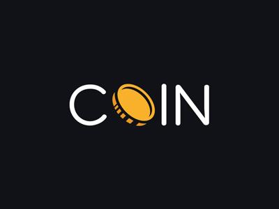 Coin design vector yellow blue flat icon coin