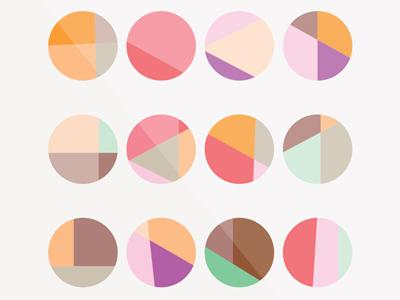 Color color illustration design flat