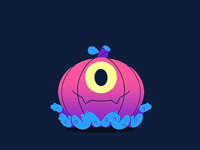 Happy Halloween characters animated animated gif madebyradio loop animation creepy halloween bash halloween