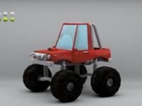 Monster truck texture wip 01