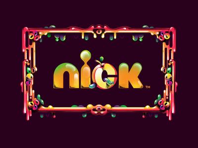 Nickeldoen Halloween 2019 halloween design toolkit graphic nickelodeon nick logo pattern art scary patterns halloween illustration