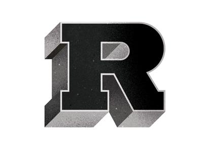 R radio type texture r 3d dimension