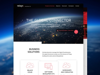 Corporate Design for Relayr