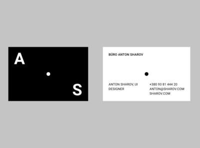 Sharov visit card