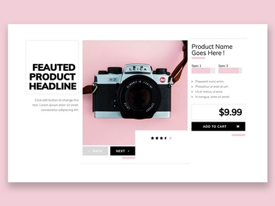 Product Feature Template
