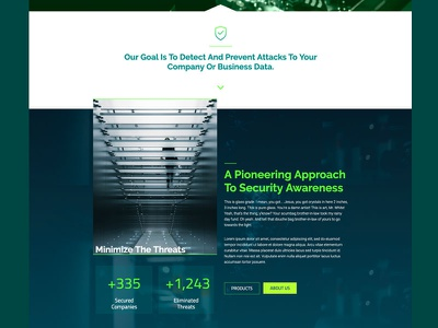 Digital Security Web mexico branding corporate elementor-pro guadalajara interface ui ux design