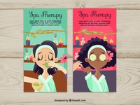 Spa Therapy Banners