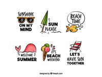 Summer labels