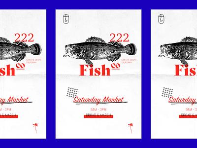 fish market market fish poster