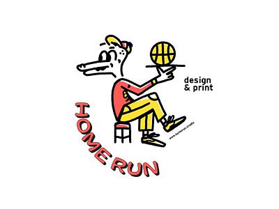 home run riso studio risoprint print illustration studio risography risograph