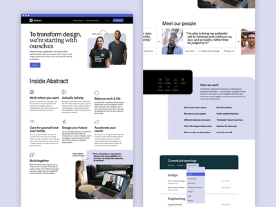 Abstract Web Redesign