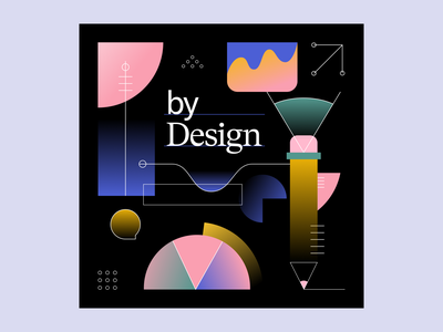 by Design Podcast landing page brand design