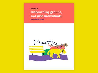 Intercom On Onboarding onboarding tech editorial book design illustration content intercom
