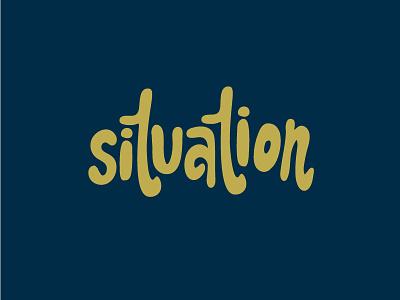 Situation leeds lettering logo logo lettering