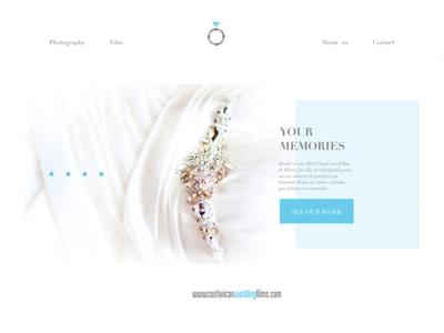 Wedding Responsive Website  visual design website ui ux