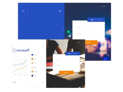 Interface Login  visualdesign design ui ux interface