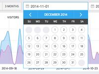 Calendar design for jQuery datepicker