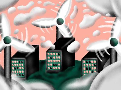 Dropbox Sets Sustainability Goals for 2030 sustainability illustration dropbox blog
