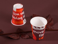 Cup 3 dribbble