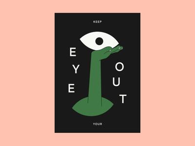 👀 card spooky eye
