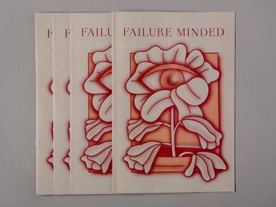 Failure Minded dropbox newspaper illustration print failure zine