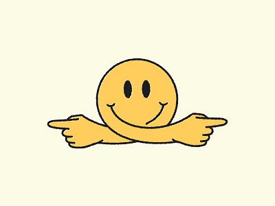Course Correct dropbox sticker stickermule momentum smiley