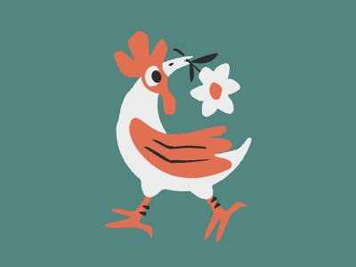 Six Moons illustraion packaging label logo chicken branding eggs