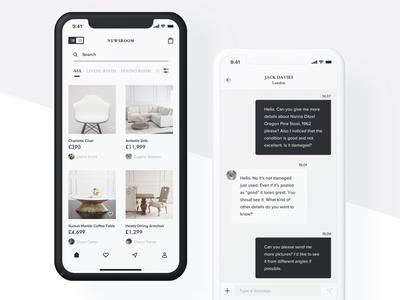 Luxury furniture app