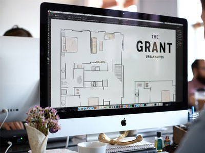 Floor Plan Illustrations live painting wacom design local floor plan illustration