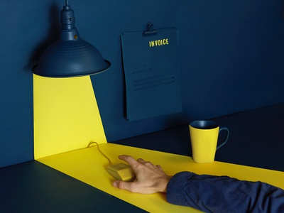 The Not So Dark Side of Sales focus lab still life scene office design photography light