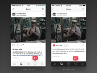 Thoughts on Instagram Photo Page