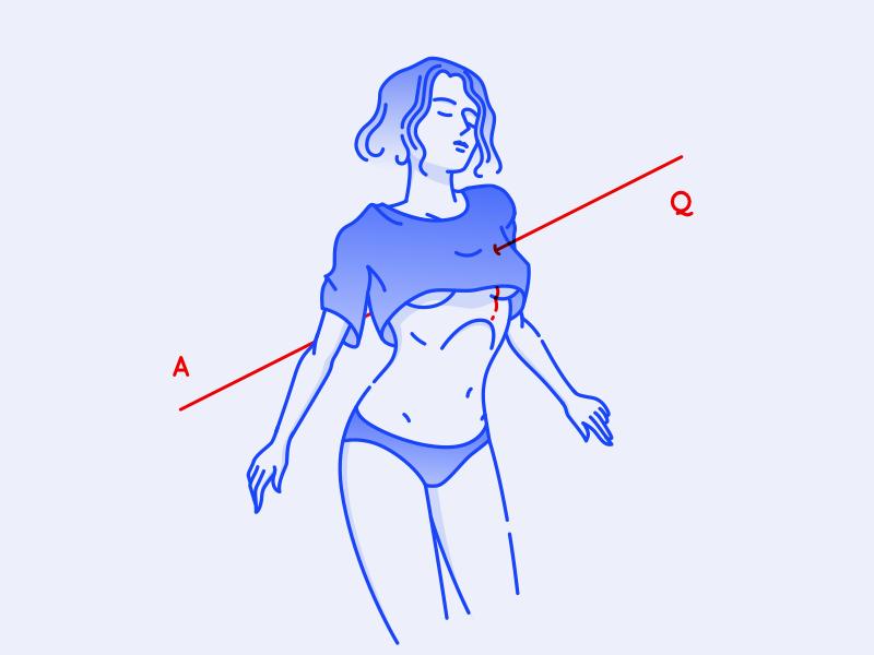 Pierced Girl sketchapp illustration girl character