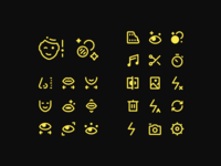 Tiny Icons for a Video Editing App