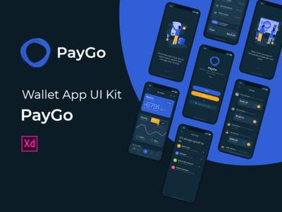 PayGo - Wallet App UI Kit