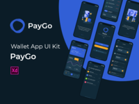 PayGo - Wallet App UI Kit