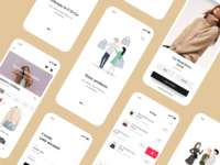 F A S G O - Fashion App UI Kit